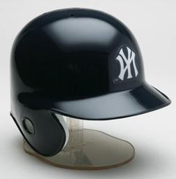 NY New York Yankees Mini Baseball Batting Helmet - with disp