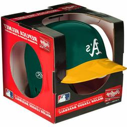 OAKLAND A'S ATHLETICS RAWLINGS MINI BATTING BASEBALL HELMET