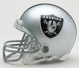 OAKLAND RAIDERS RIDDELL NFL FOOTBALL MINI HELMET NEW IN RIDD