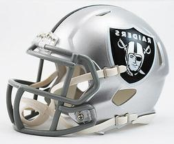 OAKLAND RAIDERS RIDDELL SPEED FOOTBALL MINI HELMET NEW IN RI