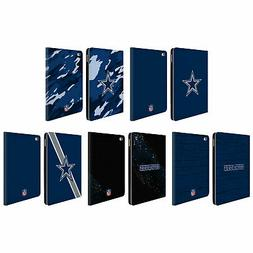 official nfl dallas cowboys logo leather book