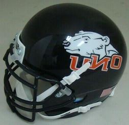 Ohio Northern Polar Bears Schutt Mini Authentic Helmet