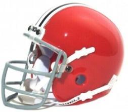 Ohio State Buckeyes 1966 Schutt Throwback Mini Authentic Hel