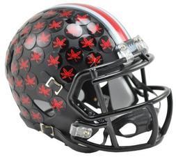 Ohio State Buckeyes Black Mini Helmet