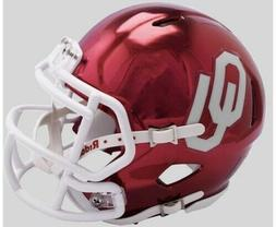Oklahoma Sooners 2018 Alternate Chrome NCAA Riddell Speed Mi