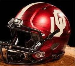 Oklahoma Sooners Riddell Speed Mini Replica Bring The Wood F
