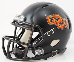 Oklahoma State Cowboys Black Speed Mini Football Helmet