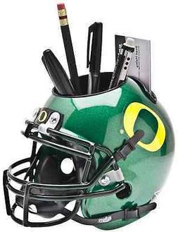 OREGON DUCKS NCAA Schutt Mini Football Helmet DESK CADDY