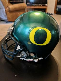 OREGON DUCKS RIDDELL Mini Helmet NCAA PAC 12 FOOTBALL THROWB