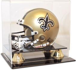 New Orleans Saints Mini Helmet Display Case