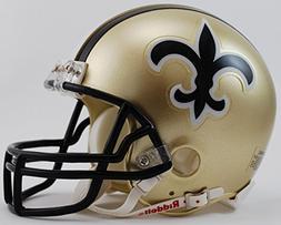 New Orleans Saints NFL 1976-99 Mini Helmet w/ Z2B Face Mask