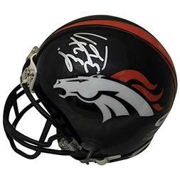 Peyton Manning Autographed Denver Broncos Signed Football Mi