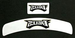 PHILADELPHIA EAGLES MINI HELMET DECAL SET