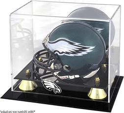 Mounted Memories Philadelphia Eagles Mini Helmet Display Cas