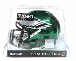 Philadelphia Eagles Riddell Speed Mini Chrome Helmet