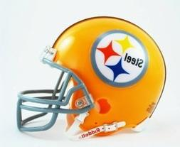 Pittsburgh Steelers 1962 Throwback Replica Mini Helmet w/ Z2