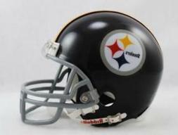 Pittsburgh Steelers 1963-76 Throwback Replica Mini Helmet w/