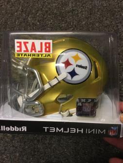 "Pittsburgh Steelers ""Blaze ALTERNATE"" NFL Riddell Speed Mini"