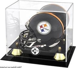 Mounted Memories Pittsburgh Steelers Mini Helmet Display Cas