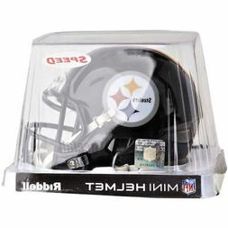PITTSBURGH STEELERS RIDDELL NFL MINI SPEED FOOTBALL HELMET