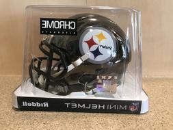 Pittsburgh Steelers Riddell Speed Mini Helmet - NFL Chrome A