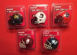 RIDDELL POCKET PRO Mini Football Helmet Set Lot Vtg NCAA Col