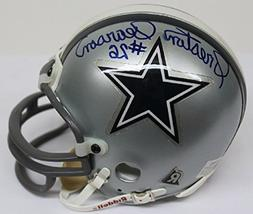 Preston Pearson Signed Mini Helmet Autographed Cowboys 42280