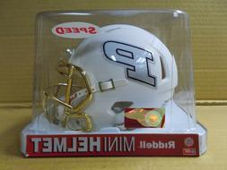 Purdue Boilermakers NCAA MATTE White Moon Mini Helmet - NEW