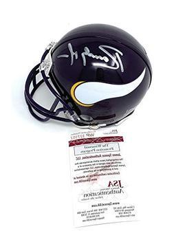 Randy Moss Minnesota Vikings Signed Autograph Throwback Mini