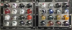 RIDDEL AFC NFC RIDDELL POCKET PRO SPEED MINI HELMET SET 32 P