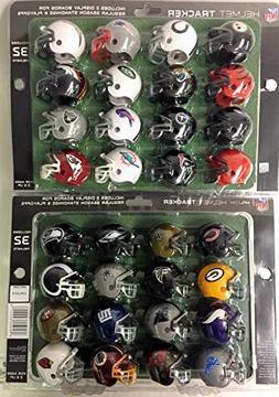 Riddell 32 Piece NFL Helmet Tracker Set - gumball size helme