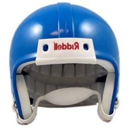 Riddell Blank Mini Football Helmet Shell - Royal Blue