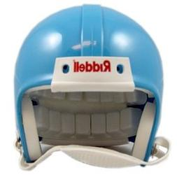 Riddell Blank Mini Football Helmet Shell - Columbia Blue