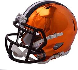 Riddell Cleveland Browns Chrome Alternate Speed Mini Footbal