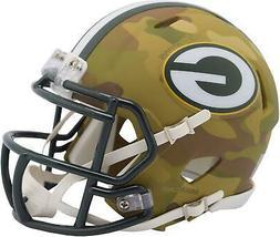 Riddell Green Bay Packers Camo Alternate Revolution Speed Mi