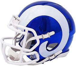 Riddell Los Angeles Rams Chrome Alternate Speed Mini Footbal