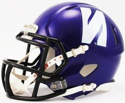 Riddell® NCAA® Northwestern Mini Helmet
