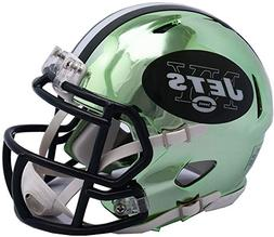 Riddell New York Jets Chrome Alternate Speed Mini Football H