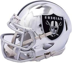 Riddell Oakland Raiders Chrome Alternate Speed Mini Football