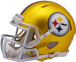 Riddell Pittsburgh Steelers Blaze Revolution Speed Mini Foot