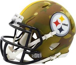 Riddell Pittsburgh Steelers Camo Alternate Revolution Speed