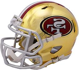 riddell san francisco 49ers chrome