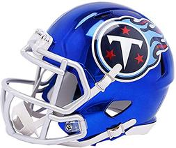 Riddell Tennessee Titans Chrome Alternate Speed Mini Footbal