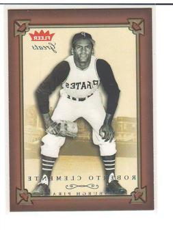 Roberto Clemente Pittsburgh Pirates Insert Parallel Variatio