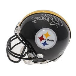 Rocky Bleier Autographed Signed Pittsburgh Steelers Mini Hel