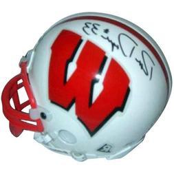 Ron Dayne Autographed Wisconsin Badgers Mini Helmet