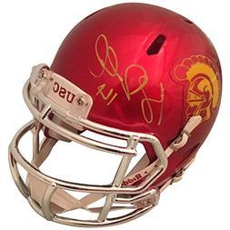 Sam Darnold Autographed USC Trojans Signed Football Chrome M