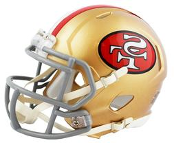 SAN FRANCISCO 49ERS 2018 TRIBUTE RIDDELL SPEED FOOTBALL MINI