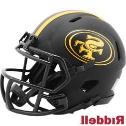 San Francisco 49ers Alt Eclipse Riddell Speed Mini Helmet  N