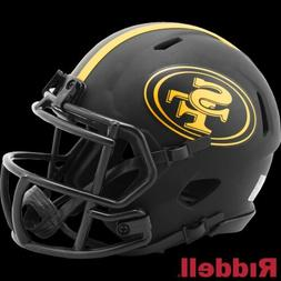 San Francisco 49ers Alt Eclipse Riddell Speed Mini Helmet -